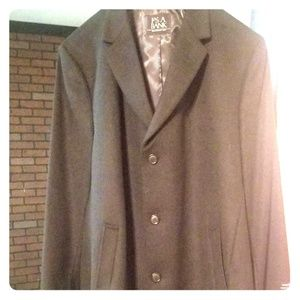 "Jos A Bank 48"" long executive collection mens coat"